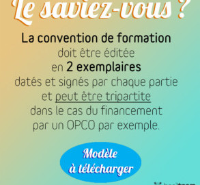 CONVENTION DE FORMATION