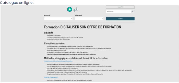 Découvrez une aide précieuse pour valider vos critères Qualiopi... notre logiciel de gestion YPK :)